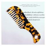 zhenxin Peine 1 unids Acetato antiestático cómodo Colorido peinaje Masaje peluquería Cepillo para el Cabello para Las Mujeres Chicas Viajar casero Peine Caliente (Color : 1)