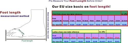 Pobfashion Moderne Tanzschuhe glitzernde Damenschuhe in vielen reflektierenden Farben (EU38, silber) - 3