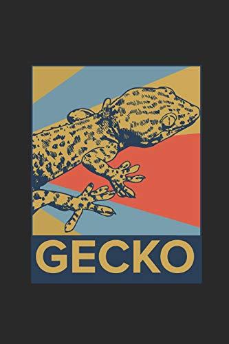 Gecko: Graph Paper Notebook – Gift For Gecko Fans