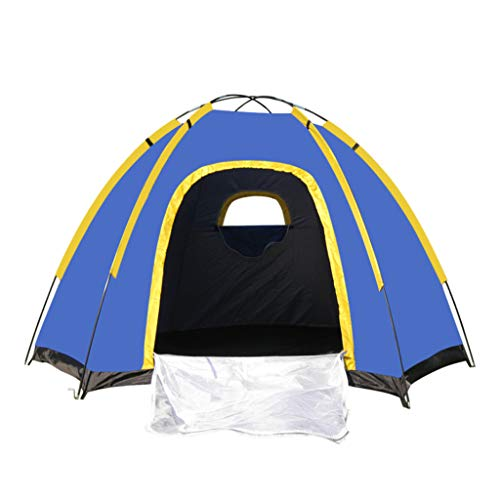Tent for Outdoor Travel Camping 3-4 Person Lightweight Portable Backpacking Tent 94.5x82.7x51inch,Ship by US Warehouse