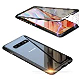 Jonwelsy Compatible with Samsung Galaxy S10 Plus Case, 360