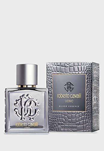 Roberto Cavalli Uomo Silver Essence Eau de Toilette Spray, 60 ml