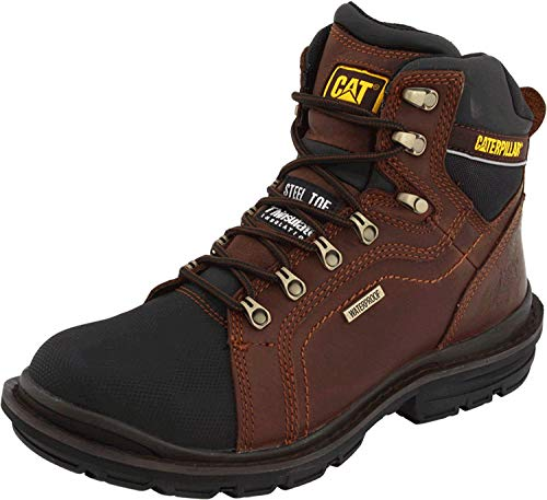 Caterpillar Men's Manifold Tough Waterproof Boot,Oak,10.5 W US