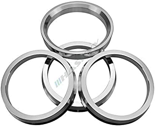 Haskyy 4 aluminium centrirringar Ø 66,6 – Ø 57,1 CMS Rial AEZ DOTZ ENZO BORBET fälgar