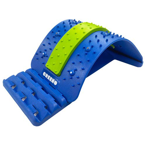 Greeno Lower Back Stretcher for Back Pain Relief, 4 Adjustment Multi Level Lumbar Stretcher, Lower...