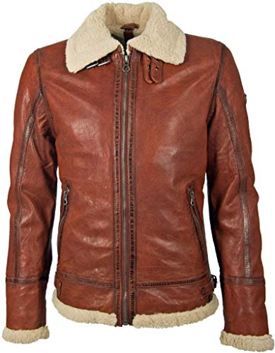 Gipsy Herren Winterjacke Airforce Cognac XL