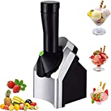 Uso doméstico portátil Fruit Fruit Soil Sirva Máquina de yogurt congelado Sorbete para el postre de fruta congelada Hacer creador de helados caseros congelados de Deluxe Hacer sorbetas de helados deli