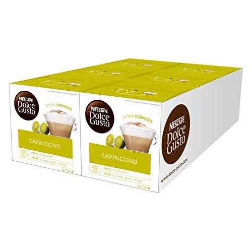 NESCAFÉ DOLCE GUSTO CAPPUCCINO Cappuccino 6 confezioni da 16 capsule (96 capsule)