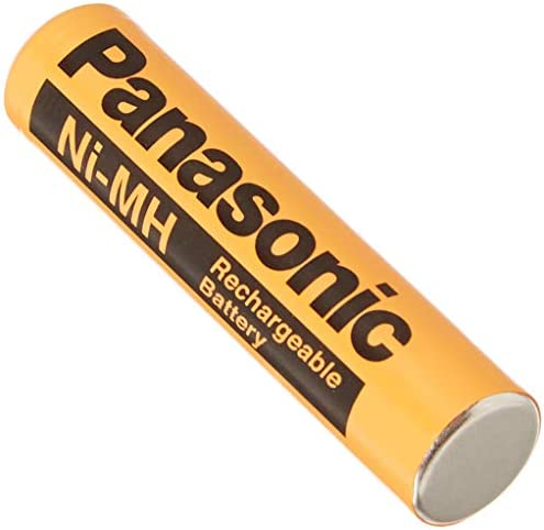 2 Pack Panasonic NiMH AAA Rechargeable B