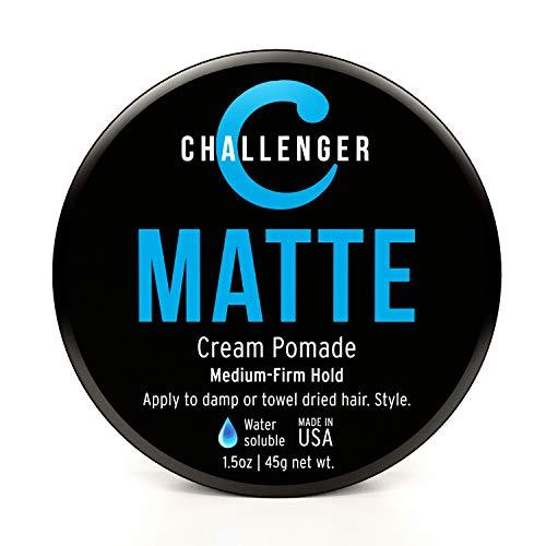 Challenger Men's Matte Cream Pomade
