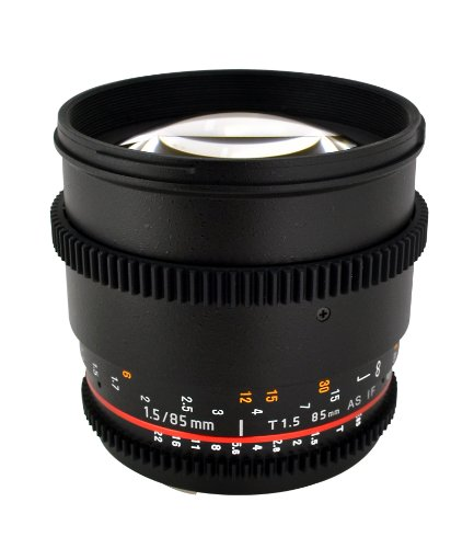 Rokinon CV85M-NEX 85mm t/1.5 Aspherical Lens for...