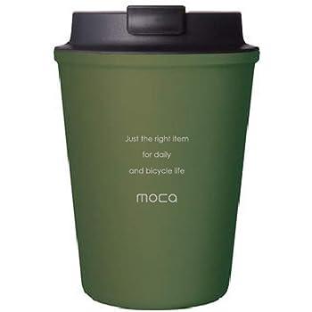 moca モカ タンブラー カップ コーヒー ドリンク 水筒 蓋付き 350ml