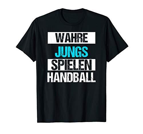 Jungen Handball Sport Weihnachts Geschenk Lustiges Shirt T-Shirt