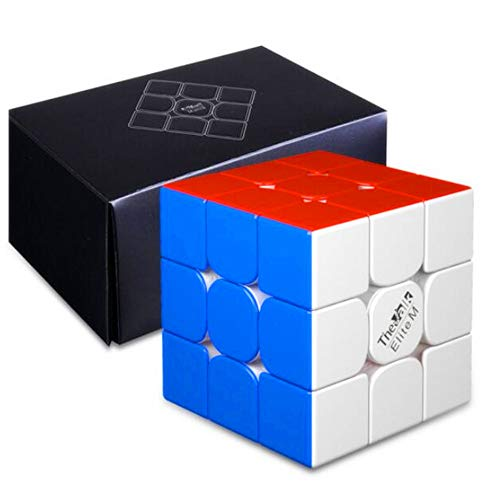 cuberspeed QiYi Valk 3 Elite M Magnetic 3x3x3 Stickerless Speed Cube QiYi...