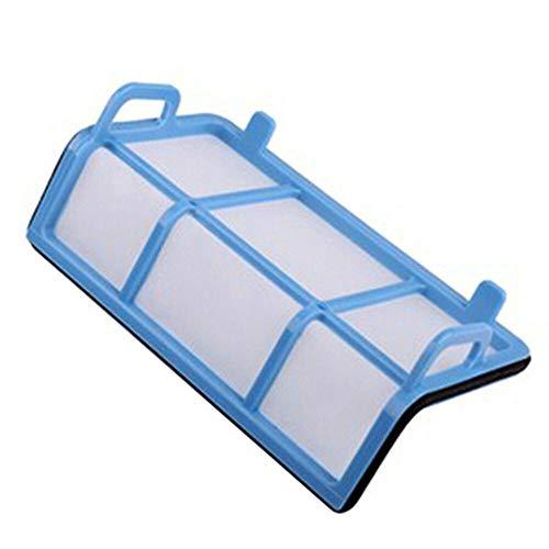 FMN-Home, 1 Juego Cepillo Lateral Primaria Polvo Filtro HEPA Filtro Mop Pad for Chuwi Ilife V5 V5s V3 V5 V3s Pro V50 V55 Limpiador de Partes X5 Robot Aspiradora (tamaño : Negro)