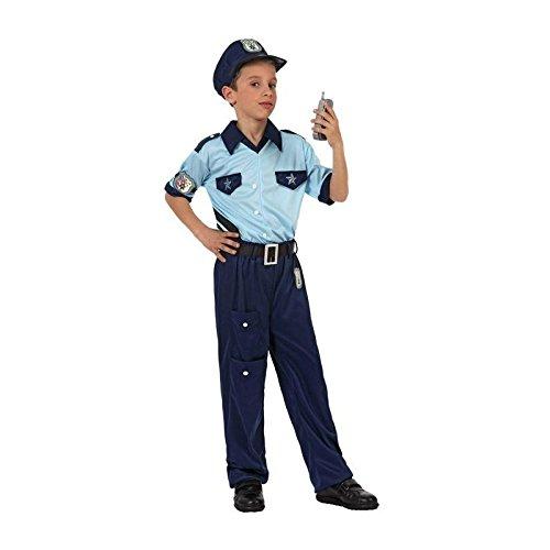 Atosa Déguisement Policier Garçon