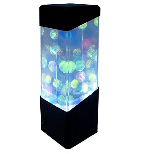 Yosoo medusas Peces tropicales de bola de agua tanque de acuario luces