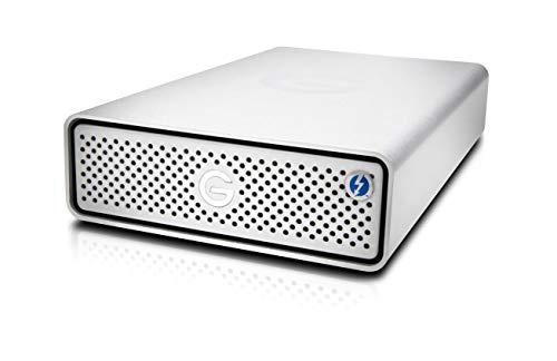 G-Technology 18TB G-Drive with Thunderbolt 3 and USB-C Desktop External Hard Drive, Silver - 0G10804-1