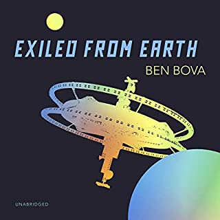 Exiled from Earth audiobook cover art