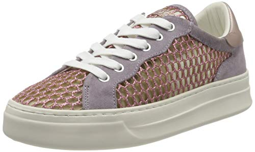 Crime London Damen sonik Sneaker, Violet, 36 EU