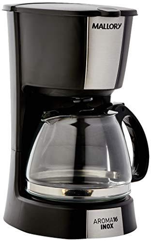 Cafeteira Mallory Aroma 16 Inox 220v Preto