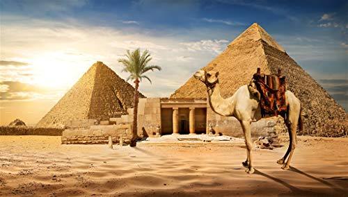 LIAIHI Rompecabezas para Adultos 1000 Piezas De Madera, Pirámides Egipcias, Juguetes De Bricolaje Juego Educativo Rompecabezas Regalo Decoración del Hogar