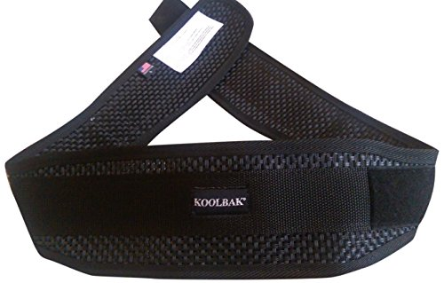 KoolBak Back Support Belt (lifting, kidney, riding, golf) LG 34-39