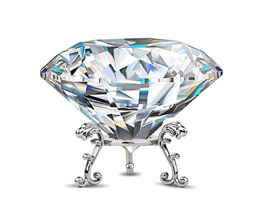 Large Crystal Diamond Paperweigh...