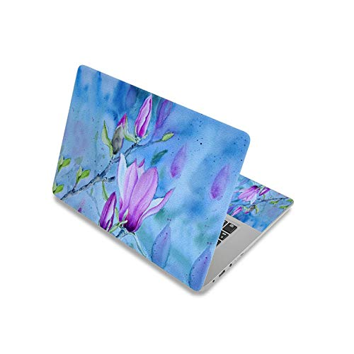 Flower Laptop Skin Notebook Sticker 17inch 13.3' 14' 15.6' Computer Cover Decal for Macbook/Lenovo/Dell-laptop skin 8-17inch