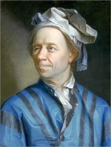 Posterlounge Acrylglasbild 50 x 70 cm: Leonhard Euler von Emanuel Handmann/ARTOTHEK - Wandbild, Acryl Glasbild, Druck auf Acryl Glas Bild