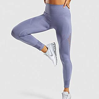 Beiziml New Energy Seamless Leggings High Waist Women Pink Yoga Pants Super Stretchy Booty Sport Leggings Squatproof Gym T...