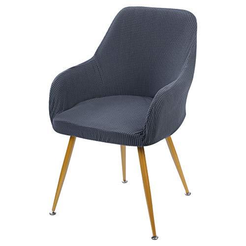 laamei Funda elástica para silla de comedor, silla de comedor, funda protectora para el hogar, comedor, restaurante, oficina, decoración