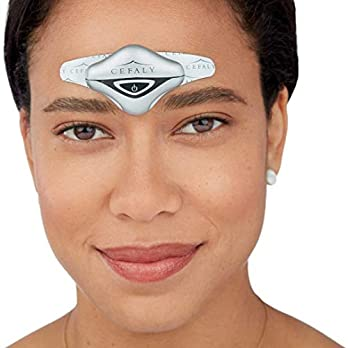 CEFALY Dual Migraine Treatment and Prevention Device | Drug-Free, Easy to Use, Migraine Headache Relief Anytime, Anywhere