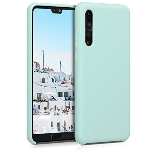 kwmobile Funda Compatible con Huawei P20 Pro - Funda Carcasa de TPU para móvil - Cover Trasero en Menta Mate