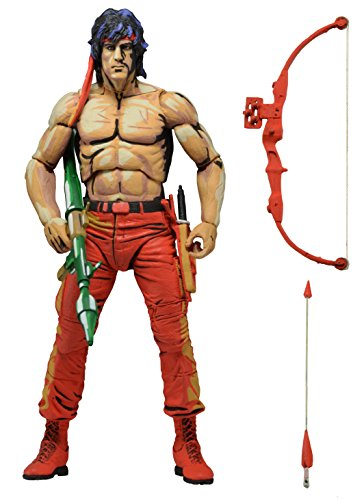 NECA Rambo - First Blood 2 Classic Video Game Box Fig.