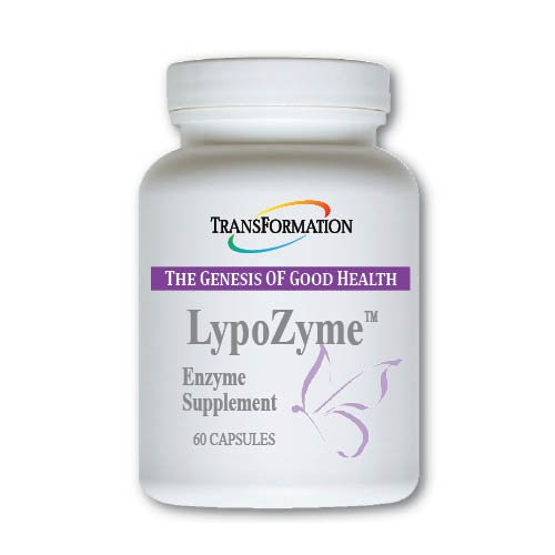 Transformation Enzymes - LypoZyme 60 caps - Supports Healthy Fat Digestion, Weight Management, Cardiovascular Health