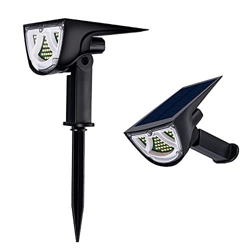 Mengdie 43-LED focos solares paisaje luces al aire libre jardín camino lámpara para el hogar jardín hilados