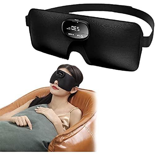 Auriculares para dormir, máscara de sueño para hombres y mujeres, auriculares Bluetooth inalámbricos para dormir, altavoz integrado de alta definición, ideal para viajar / dormir / trabajar po