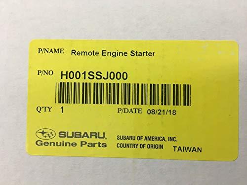 Subaru 2019 2020 Subaru Forester Remote Engine Starter Push Start Models H001SSJ001 Oem