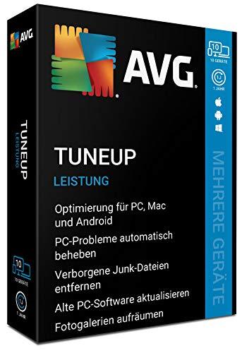 AVG TuneUp - 10 Geräte - 1 Jahr|2020|10 geräte - 1 Jahr|10 Geräte - 1 Jahr|PC, Laptop, Smartphone, Tablet, Mac|Download|Download