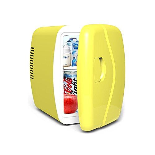 YZY 5L Auto Kühlschrank Tragbare Kühlbox Ausdauer Nach Stromausfall Mini-Gefrierschrank Reise Kühlschrank Kühlung (Farbe : Gelb)