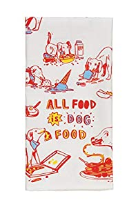 Cartoon dog dish towel