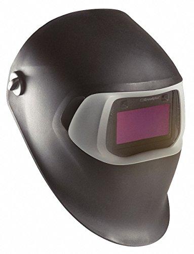 3M Speedglas 07-0012-31BL/37232 Black Welding Helmet 100 with Auto-Darkening Filter