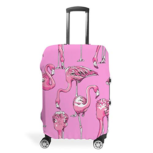 Travel Suitcase Protection - Polyester 4 Sizes Suit Most Suitcases, White (White) - Twelve constellations-XLXT