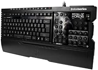 SteelSeries Shift Gaming Keyboard-Medal of Honor Edition