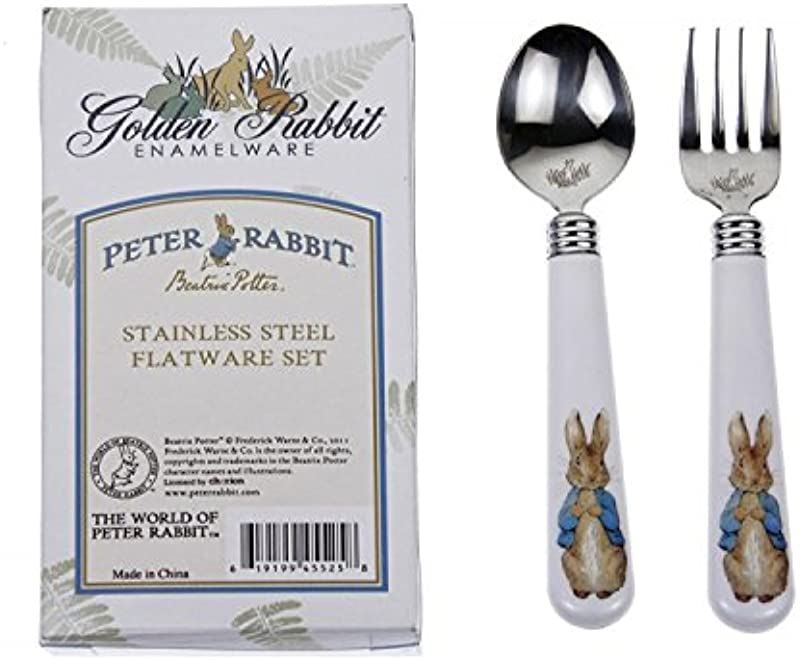 Peter Rabbit Flatware Beatrix Potter 2 Piece Set