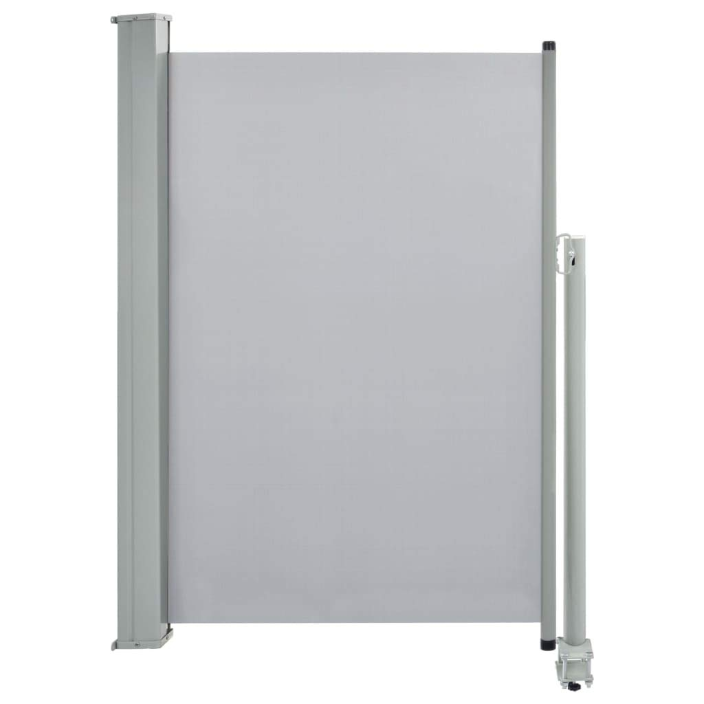 vidaXL Toldo Lateral Retráctil de Patio 120x300 cm Gris Cenador Carpa Pérgola: Amazon.es: Hogar