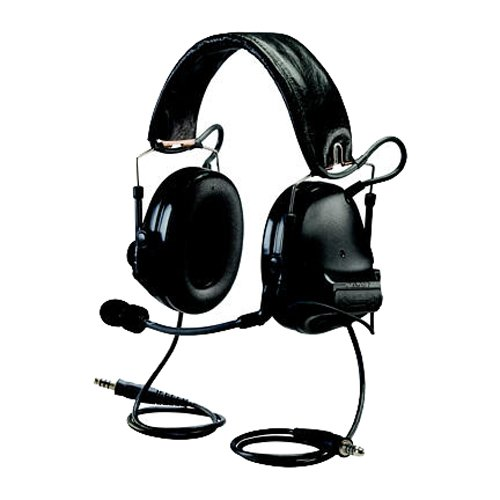 Best Prices! Peltor Dual Communication Headset, Blk, 20dB NRR