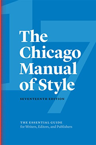 Compare Textbook Prices for The Chicago Manual of Style Seventeenth Edition ISBN 9780226287058 by The University of Chicago Press Editorial Staff