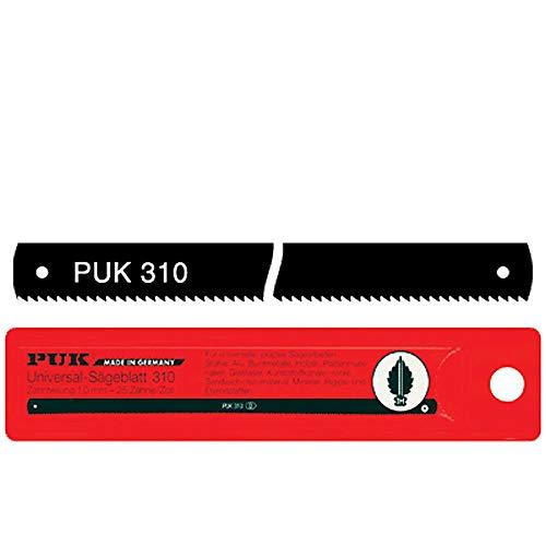 PUK 310 Sägeblätter Universal für Metall, Holz etc. (12 Stück)